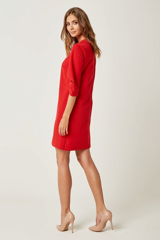 Dámske šaty Laura - Červené  ff97927b94