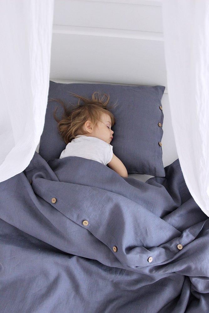 0e1ff59af Ľanová postelná bielizeň 160x200 Pure Nature - Denim | COTTON ...