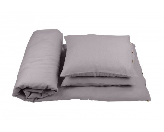 30c3f15b9 Ľanová postelná bielizeň 160x200 Pure Nature - Shark | COTTON ...